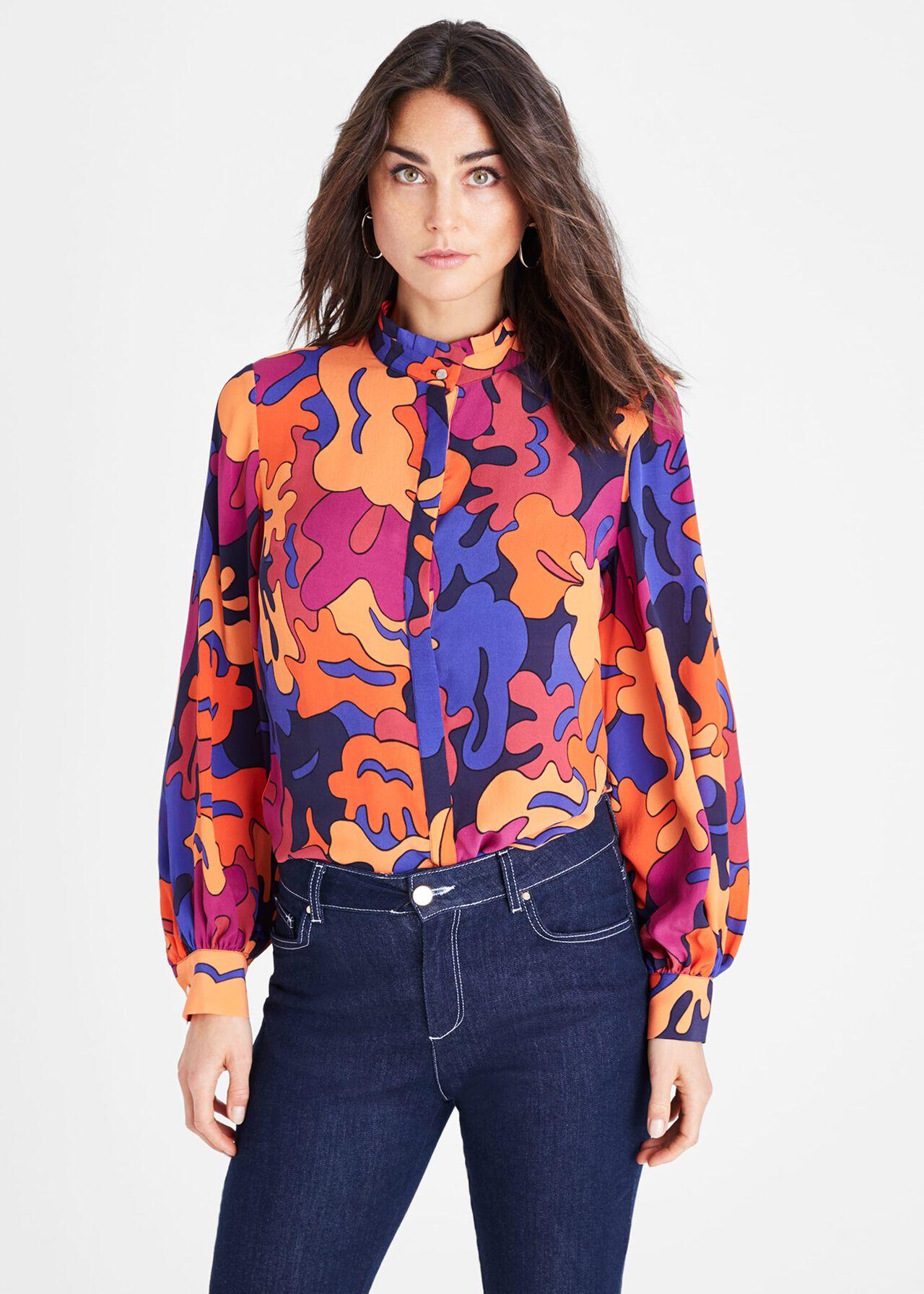 Kelis Abstract Print Shirt